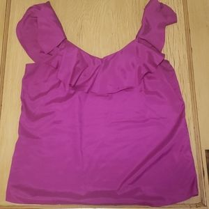 Banana Republic purple jewel tone top